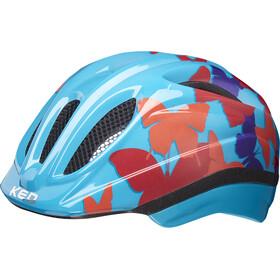 KED Meggy II Trend Helmet Kids butterfly/blue